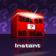 Deal or No Deal Instant Win Scratchcard
